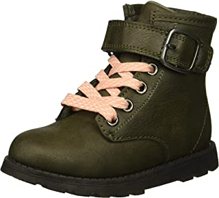 Carter's Kids Girl's Cory2 Olive Combat Boot