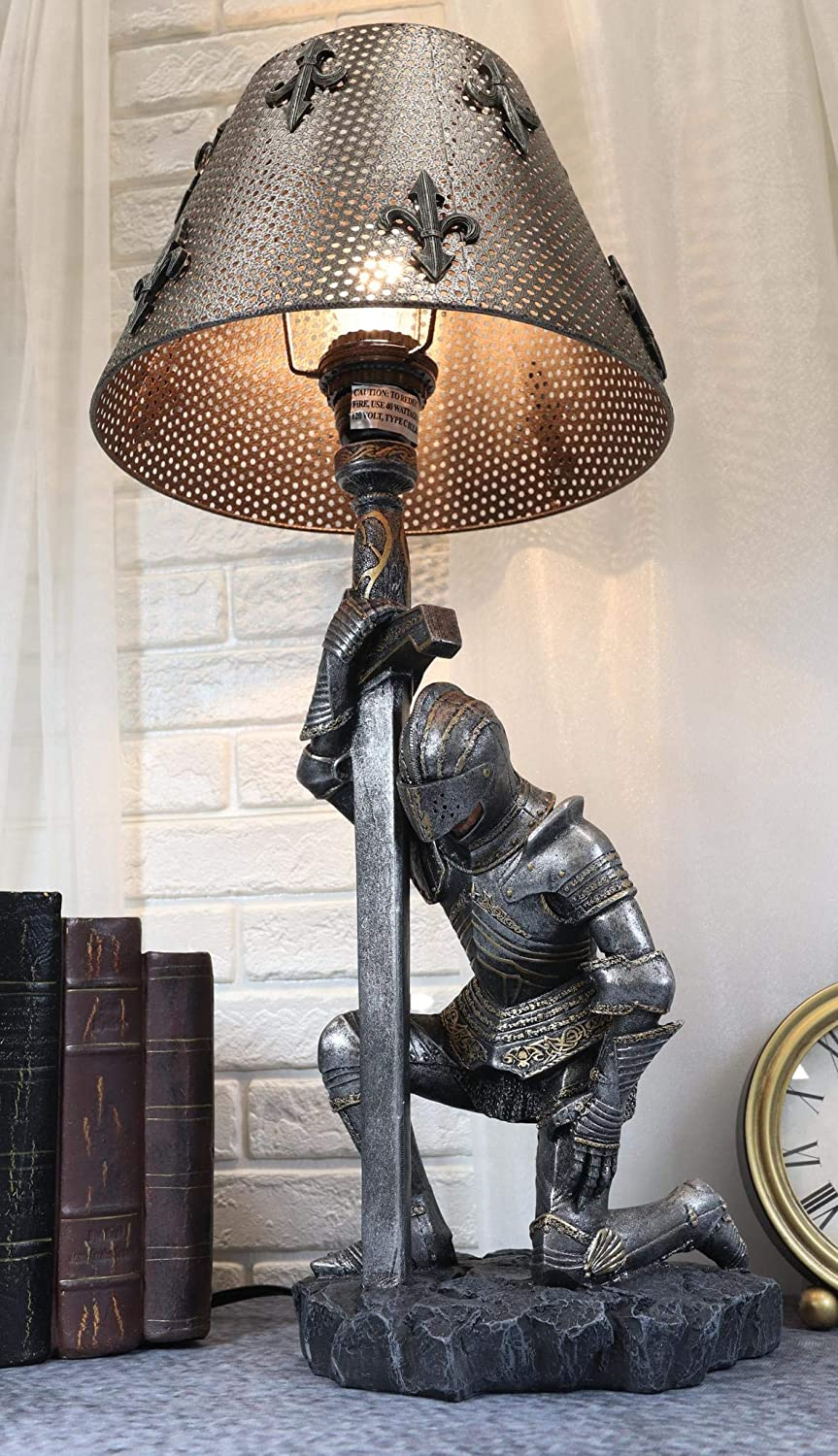 Ebros Gift The Accolade Medieval Sui Kneeling 5% OFF Knight Chivalry of San Francisco Mall
