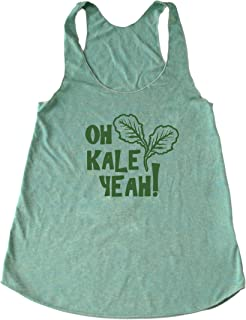 Women's Kale Tank Top - Oh Kale Yeah ® - Funny Vegan Tank