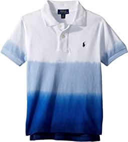 Dip-Dyed Cotton Mesh Polo (Little Kids/Big Kids)