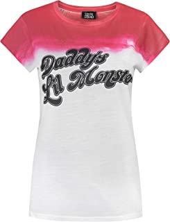 Suicide Squad Harley Quinn Daddy's Lil Monster Women's T-Shirt