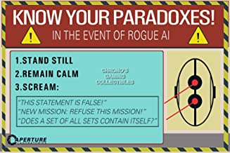 """PrimePoster - Portal 2 Know Your Paradoxes Poster Glossy Finish Made in USA - YPOR007 (16"""" x 24"""" (41cm x 61cm))"""