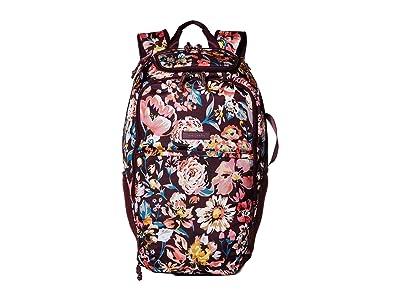 Vera Bradley Lighten Up Journey Backpack (Indiana Blossoms) Backpack Bags