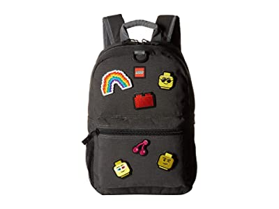 LEGO Patch Backpack Pouch with Assorted Patches