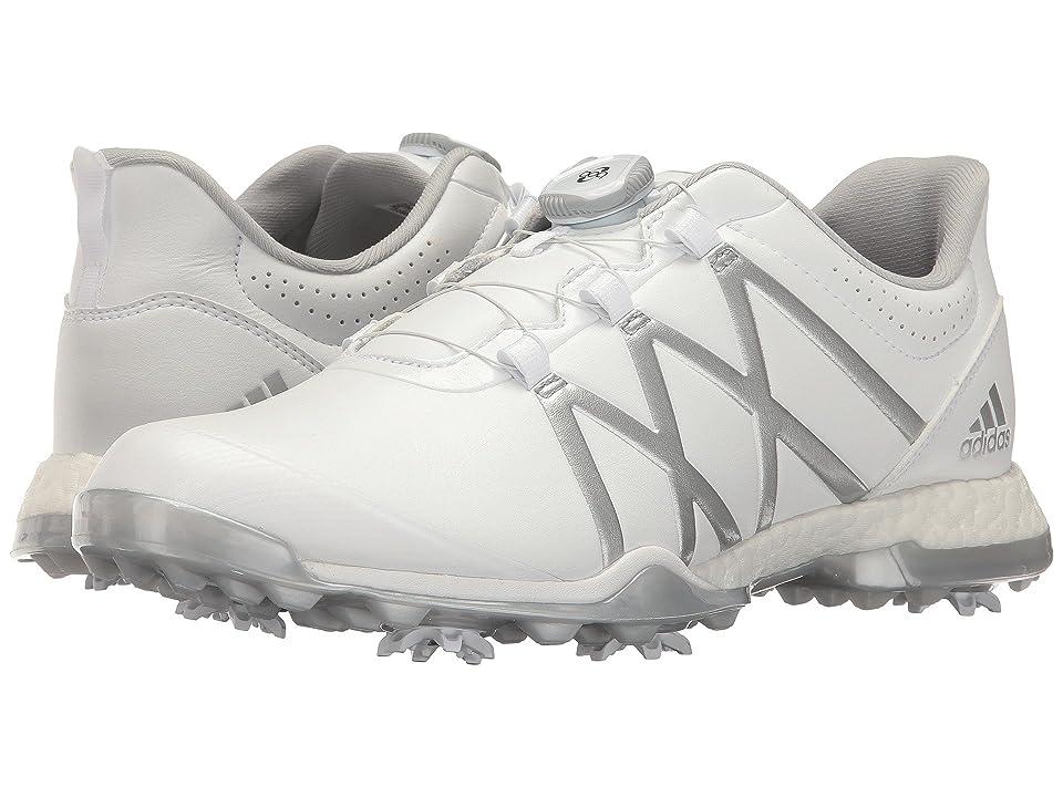 adidas Golf adiPower Boost Boa (Ftwr White/Matte Silver/Matte Silver) Women