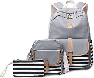 Abshoo Causal Travel Canvas Rucksack Backpacks for Girls School Bookbags