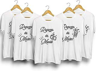 Pacchetto T-Shirt - Magliette Personalizzate per Addii al Nubilato Ragazza da Marito e Ragazza da Mojito
