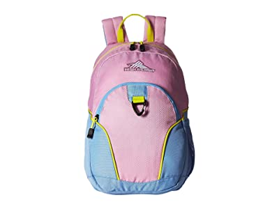 High Sierra Mini Loop Backpack (Iced Lilac/Powder Blue/Glow) Backpack Bags