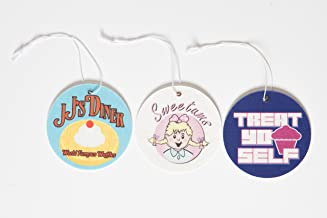 3 Car Air Fresheners – Parks and Recreation Merchandise – Funny TV Show Car Accessories – 3 Fun Essential Hanging Air Fresheners
