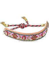Patterned Seed Bead Friendship Bracelet