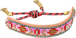 Rebecca Minkoff - Patterned Seed Bead Friendship Bracelet