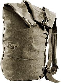 X-Case Xcase Seesack Rucksack: Canvas-Seesack 50 Liter, 28 x 25 x 80 cm Seemannssack