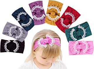 Baby Girl Nylon Headbands Turban Newborn Infant Toddler...