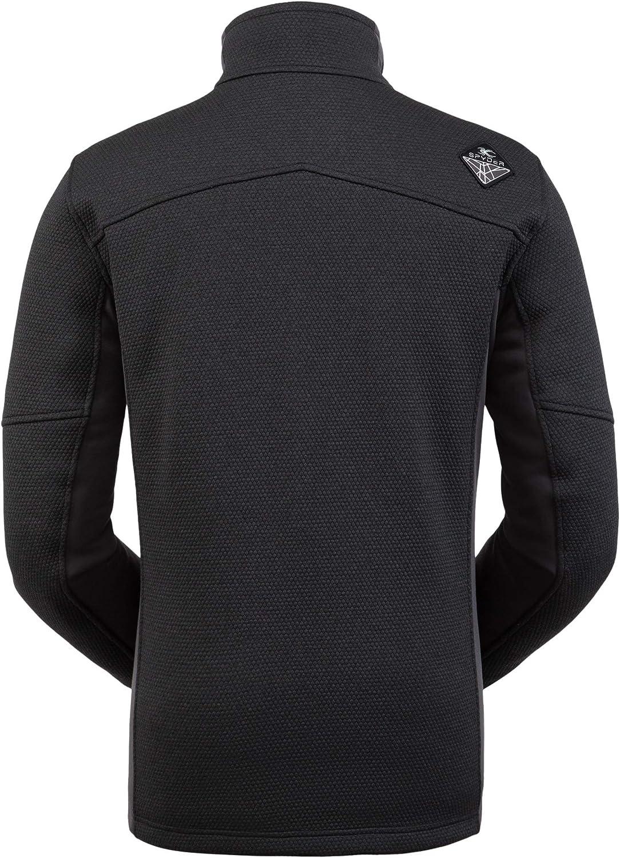 Spyder Men's Wengen Encore Fleece Jacket Factory outlet Tucson Mall Sw Full – Zip