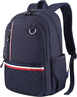 Student Backpack, School Backpack for Laptop, Unisex Classic College Bookbag Back Bag Fits 13 inch Laptop, Water-Resistant High School Rucksack,Computer Casual Daypack Bag for Weekend Outdoor, Blue