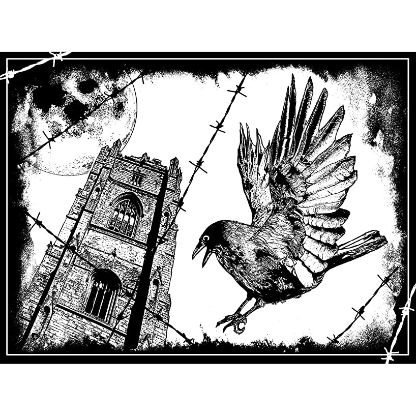 Crafty Individuals Unmounted Rubber Stamp, The Crow