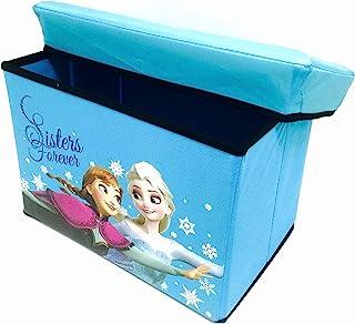 Frozen. Princess Elsa Anna & Olaf Fold-able Storage Box & Stool FZ-9026