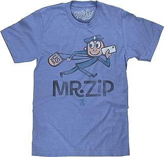 Tee Luv U.S. Mail Mr. Zip T-Shirt - Soft Touch USPS Shirt