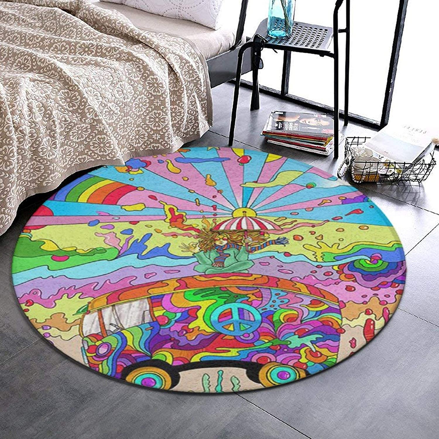 NiYoung Ultra Soft Round Area Rugs Floor Baltimore Mall Product Mat No Sofa Indoor