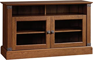 """Sauder 412921 Carson Forge Panel Tv Stand, For TV's up to 47"""", Washington Cherry finish"""