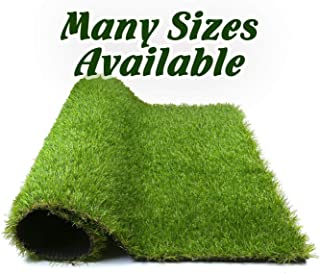 Forest Grass 6FT x 8FT Artificial Carpet Fake Grass Synthetic Thick Lawn Pet Turf for Dogs Perfect for Indoor/Outdoor, 8 48 Square ft, Green
