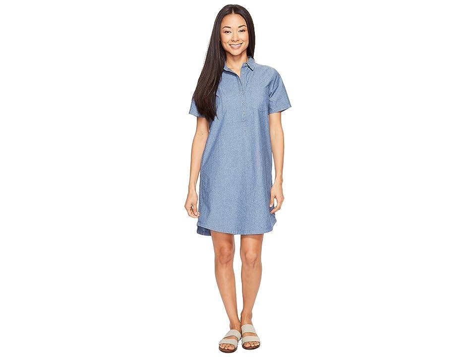 United By Blue Gatewood Shirtdress (Blue) Women