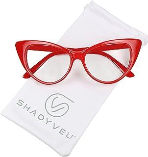 ShadyVEU Vintage Cateye Sunglasses UV Protection Non...