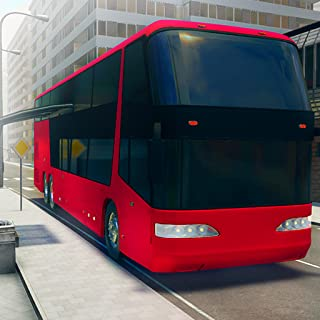 Drive Tourist Bus  In Euro City Adventure game: Mega Transporter Driver Simulator Frenzy Parking Mission