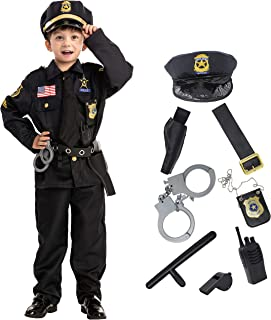 Spooktacular Creations Police Costume for Kids Halloween Cosplay