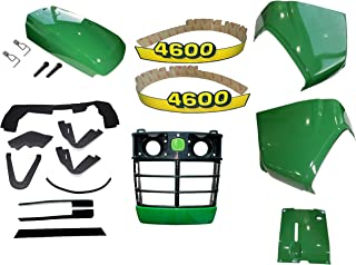 Grille/Upper Hood/Fuel Door Kit/Cowl Set/Mounting Seal Kit fits John Deere 4600