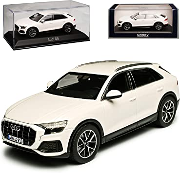 A U D I Q8 4m Suv Weiss Ab 2018 1 43 Norev Modell Auto Spielzeug