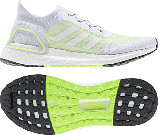 Dash Grey/Footwear White/Signal Green