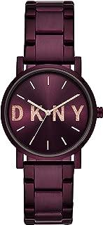 DKNY Women's NY2766 Analog Quartz Purple Watch