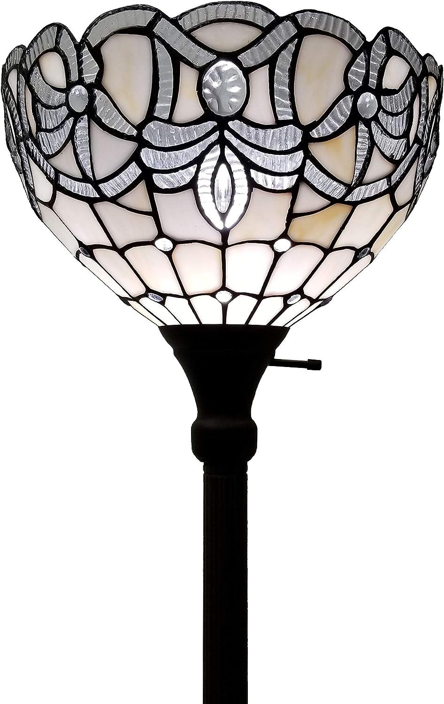 Max 62% OFF Amora Lighting Tiffany Style Floor Max 50% OFF Standing T 72