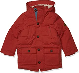 Joules Outerwear Boys 207500 Trail Parka - red - 6