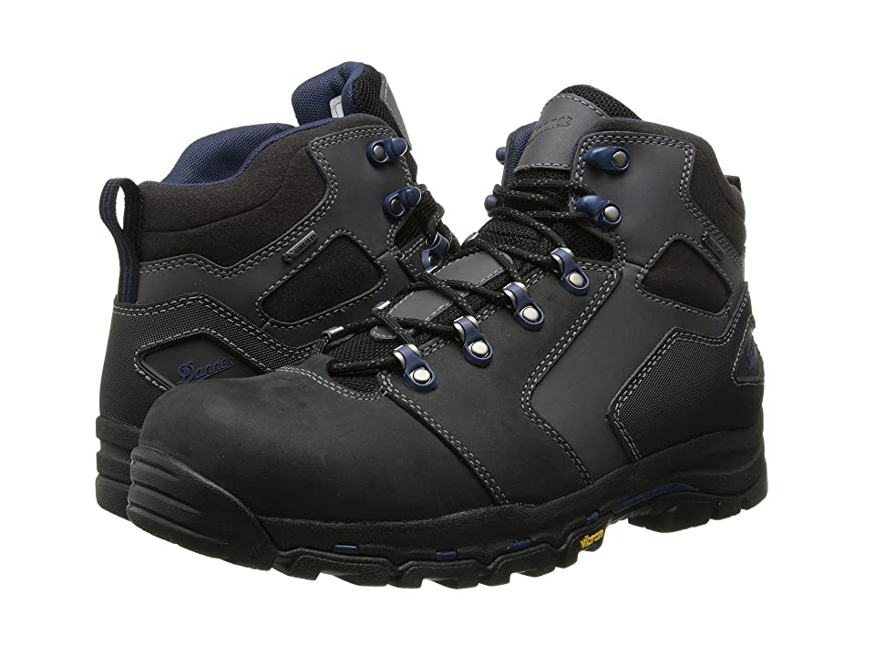 Danner Vicious 4.5 Non-Metallic Safety Toe (Black/Blue) Men