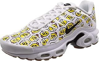 Men's Air Max Plus QS, White/Black-Gum Yellow