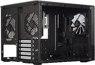Fractal Design Node 804 No Power Supply MicroATX Cube Case FD-CA-NODE-804-BL, Black