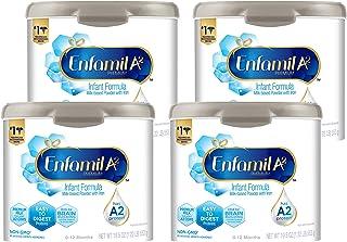 Sponsored Ad - Enfamil A2 Premium Infant Formula, Milk-Based Powder with Iron 19.5 oz (Pack of 4)