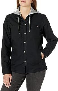 Dickies Women's Duck Hooded Shirt Jacket