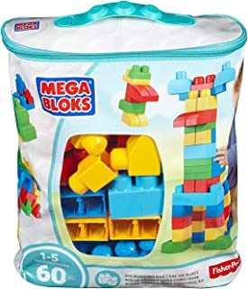 Mega Bloks Big Building Bag 60 Pcs