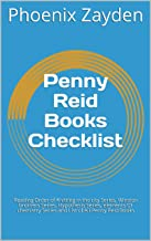 Penny Reid Books Checklist: Reading Order of Knitting in the city Series, Winston brothers Series, Hypothesis Series, elements Of chemistry Series and List of All Penny Reid Books