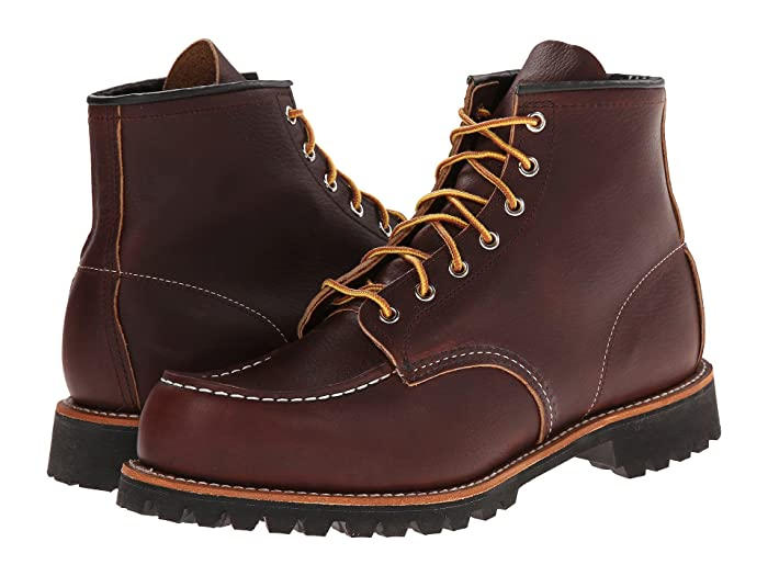 Red Wing Heritage  6 Moc Toe Lug (Briar Oil Slick) Mens Lace-up Boots