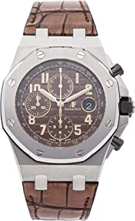 Audemars Piguet Royal Oak Offshore Mechanical (Automatic) Brown Dial Mens Watch 26470ST.OO.A820CR.01 (Certified Pre-Owned)