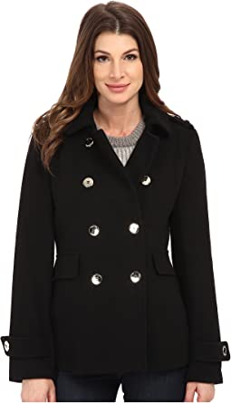 Calvin Klein - Double Breasted Wool Coat