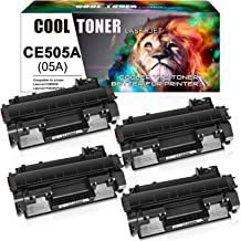 Best Cool Toner Compatible Toner Cartridge Replacement for HP 05A CE505A Toner Cartridge HP Laserjet P2035 P2035n P2055dn P2055d P2055 P2030 P2050 HP 2035n 2055dn CE505 Toner Printer Ink (Black, 4-Pack) Review