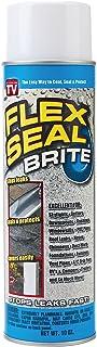 Flex Seal Spray Rubber Sealant Coating, 10-oz, Brite