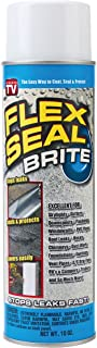 Flex Seal Spray Rubber Sealant Coating, 10-oz, Brite
