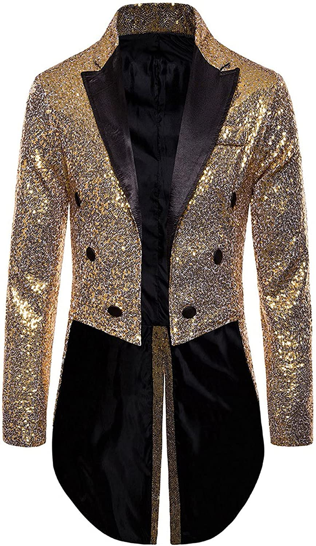 In a popularity Max 77% OFF Men's Sequin Tuxedo Lapel Embellished Suit Evening Design