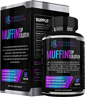 Muffin Top Solution - FUPA Ultra Fast Keto Boost & Weight Loss Pills - Appetite Suppressant & Metabolism Booster - Belly Fat Burner for Women - Lose Muffin Top Fat Thermogenic Supplement - Men Diet